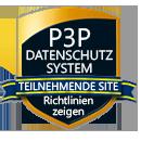 P3P-Datenschutzsystem - Teilnehmende Site - Richtlinien-zeigen